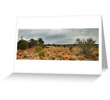 Outback Panorama Greeting Card