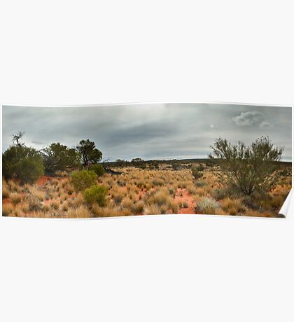 Outback Panorama Poster