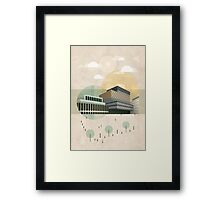 Centenary Square Framed Print