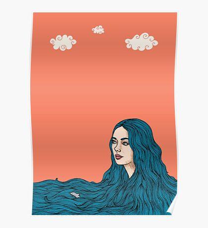 Ella y el mar Poster