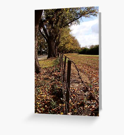 Twixt Avenue and Moon Greeting Card