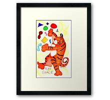 Play Space Framed Print