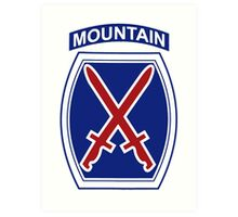 10th Mountain Division Art Print