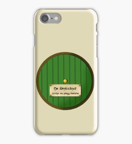 No admittance iPhone Case/Skin