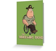 The Wheeling Dead Greeting Card