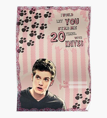 My Teenwolfed Valentine[I'd Let You Stab Me] 2 Poster