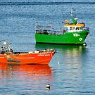 Two boats, Cascais, Portugal by newbeltane