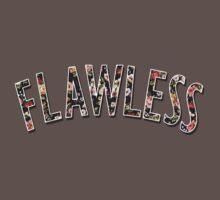 Flawless - Floral Print by velawesomraptor