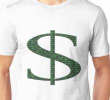 Digital Currency US Dollars $ Unisex T-Shirt