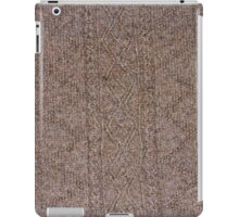 Aran Hand Knit 1 iPad Case/Skin