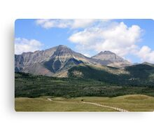 Rockies Ranchland Canvas Print