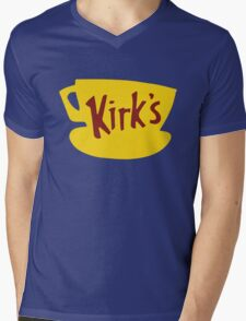 Kirk's Diner (Luke's Diner parody) Gilmore Girls - Lorelari, Rory, Stars Hollow Mens V-Neck T-Shirt
