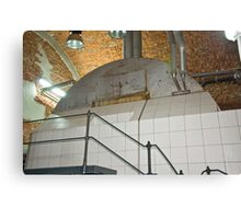 Boiler for brewing beer Canvas Print