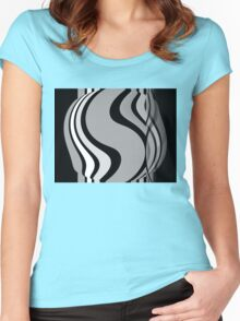 PEELING OFF THE LAYERS Women's Fitted Scoop T-Shirt