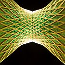 Azadi Tower (Underneath) -Tehran - Iran by Bryan Freeman