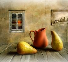 Pitcher and Pears by Veikko  Suikkanen