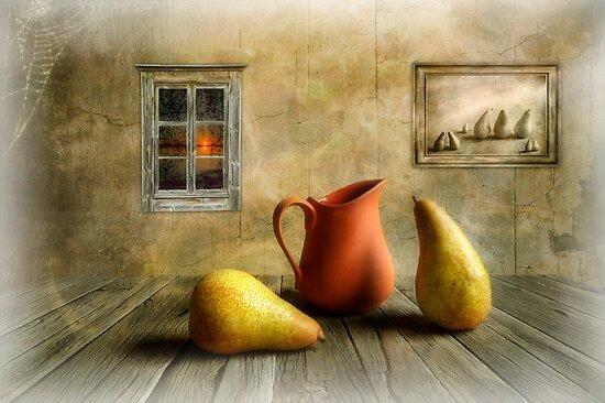 Pitcher and Pears by Veikko  Suikkanen