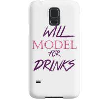 Will Model For Drinks Samsung Galaxy Case/Skin