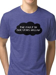 The Fault In Our Stars Hollow (John Green vs Gilmore Girls) – Lorelai, Rory Tri-blend T-Shirt