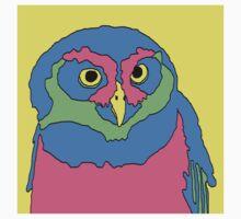 90's Owl Kids Tee