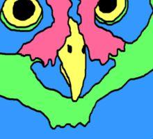 90's Owl Sticker