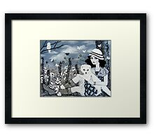 A Day Without Color Framed Print