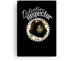Detective Inspector Canvas Print