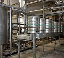 Line for filling kegs of beer by MarekM