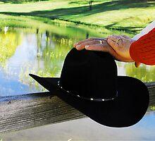 """""""Congratulations, Cowboy and Bride"""" by Gloria McAfee-Carver"""
