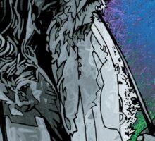 Ode to Gandalf the Grey - Halflings Leaf Sticker