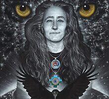 Raven Warrior  by ZackMitchellArt