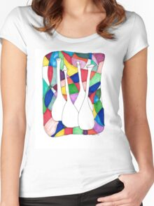 Bottles Women's Fitted Scoop T-Shirt