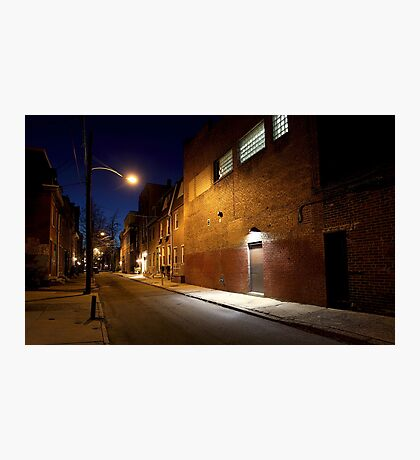 Alley in Philly Photographic Print