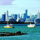 Melbourne city - from Williamstown by EdsMum