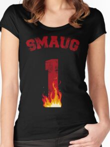 Team Smaug Women's Fitted Scoop T-Shirt
