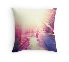 Homebound Throw Pillow