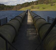 Pipes, Ladybower Reservoir. by Nick Atkin