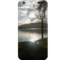 Sunset Over Lake of Menteith iPhone Case/Skin