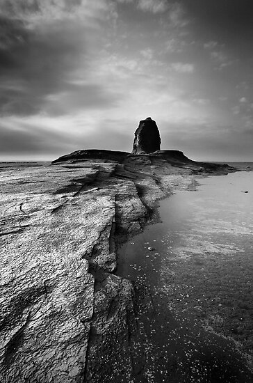 Ruggedness-Saltwick Bay-North Yorkshire by Ian Snowdon /     www.downtoearthimages.co.uk