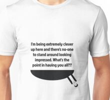 The Doctor's Being Clever Unisex T-Shirt