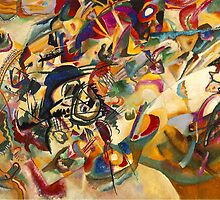 Wassily Kandinsky Composition No 7 by tim norman