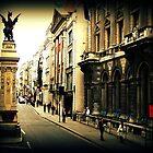 Dragon Amidst London by Luke Pearce