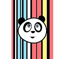 Panda Retro Photographic Print