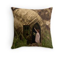 Anyone at Home? Throw Pillow