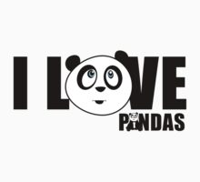I love Pandas by Adamzworld
