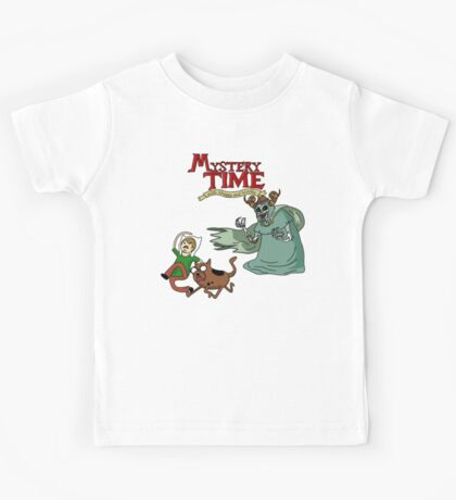 Mystery Time with Shaggy and Scooby Kids Tee