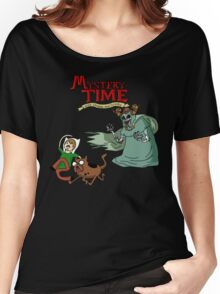 Mystery Time with Shaggy and Scooby Women's Relaxed Fit T-Shirt