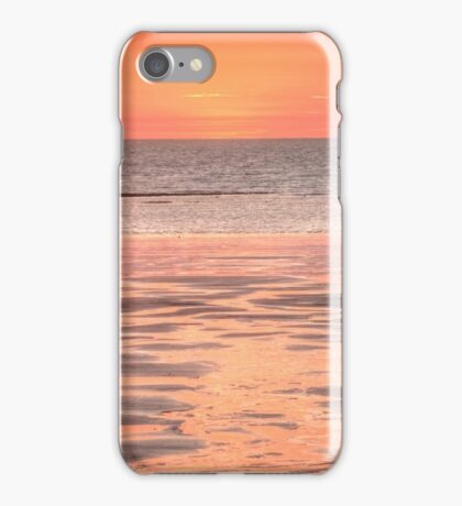 Cable beach sunset colours iPhone Case/Skin