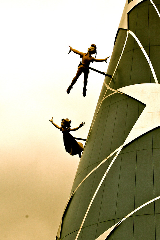 You Can Fly - Peter & Wendy by serepink