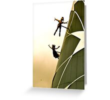 You Can Fly - Peter & Wendy Greeting Card